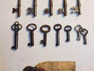 Skelton Keys  Cabinet Keys and Vintage Keys from 1952 Studebaker Champion 4 Door