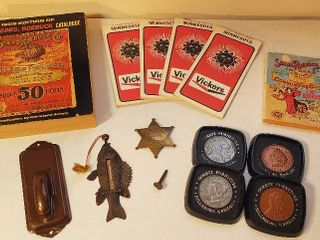 Vintage Advertising Items and Other Vintage items