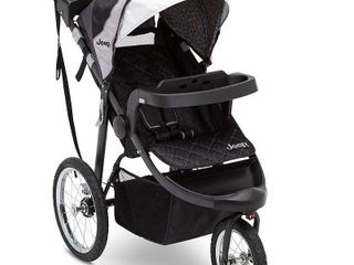 Jeep Deluxe Patriot Open Trails Jogger by Delta Children  Grey