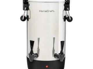 HomeCraft CUDS45SS Quick Brewing Stainless Steel 1000 Watt Automatic 45 Cup Coffee Urn