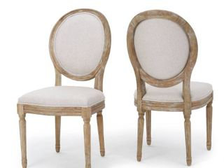 christopher knight home phinnaeus fabric dining chairs