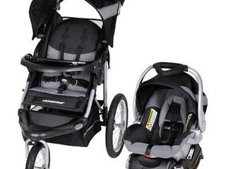 Baby Trend Expedition Jogger Travel System  Silver