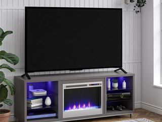 Ameriwood Home lumina Fireplace TV Stand for TVs up to 70  Wide Multiple Colors Retail   598 99