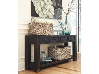 Gavelston Sofa Console Table Black   Signature Design by Ashley