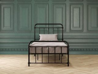 DHP Wallace Metal Bed  Twin  Black