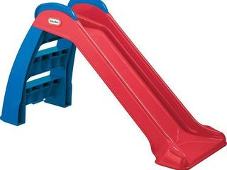little Tikes First Slide  Red Blue    Indoor Outdoor Toddler Toy