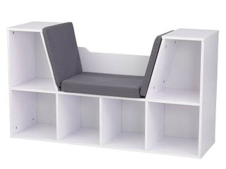KidKraft Bookcase with Reading Nook   White