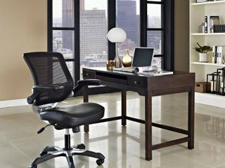 Modway Edge Mesh Back leatherette Seat Office Chair  Multiple Colors