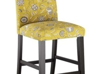 Skyline Furniture Custom Counter Stool Dahlia Yellow  237 49