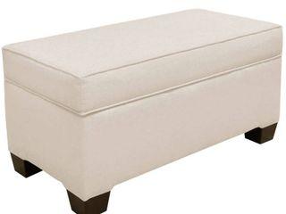 Skyline Furniture linen Talc Storage Bench  232 99