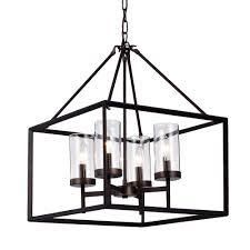 Anson 20 in  4 light Indoor Coffee Bean Finish Pendant lamp Chandelier with light Kit by Warehouse of Tiffany  170 18