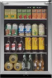 Frigidaire 138 Can Capacity  4 6 cu ft  Residential Stainless Steel Freestanding Beverage Center  399 99