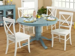 Simple living Arianna Pedestal Dining Table  Retail 476 45