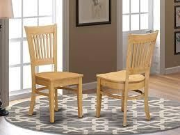 East West Furniture Vancouver dining room chairs    set of 2   279 99