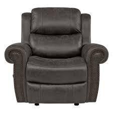 grey cashmere recliner