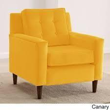 Skyline Furniture Velvet Upholstered  Tufted Accent Chair  468 99