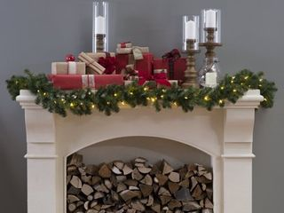 National Tree Company North Valley Spruce Garland