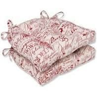 Seasonal Christmas Pillow Cushions   Set of 2