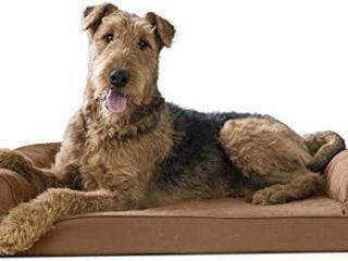 FurHaven Cradled Dog Bed for Medium Sized Dogs