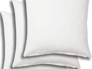 Utopia Bedding Decorative Square Pillows   Set of 4