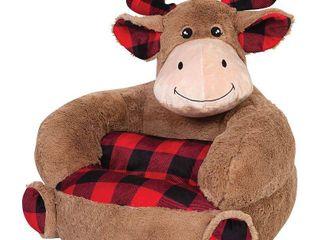 Trend lab Buffalo Check Moose Plush Chair