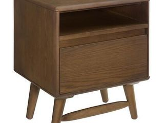 Modway Talwyn Wood Rustic 1 Drawer Nightstand