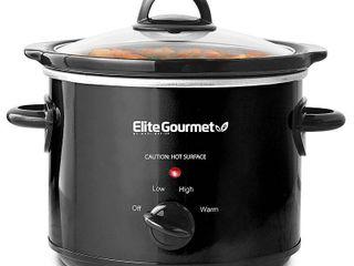 Elite Gourmet 3QT Slow Cooker