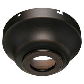 Harbor Breeze Bronze Metal Angle Mount Capable Ceiling Fan Mounting Hardware