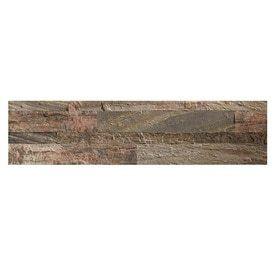 Aspect Stone 6 in x 24 in Weathered Quartz Stone Backsplash   Peel and Stick Stone Tiles