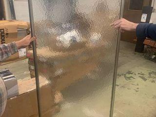 Shower Door w  Tempered Glass
