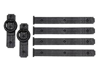 Acp 430 Magnetic Garage Door Hardware   Black
