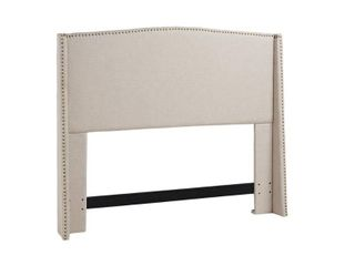 Stratford Wing Upholstered Headboard  Retail 411 99