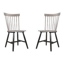 Black  The Gray Barn Petra Rustic Dining Chair  Set Of 2  Retail 134 99