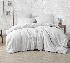 B cozy natural loft ultimate comforter oversized king farmhouse white