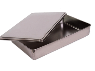 YBM Home Stainless Steel 9 inch Covered Cake Pan