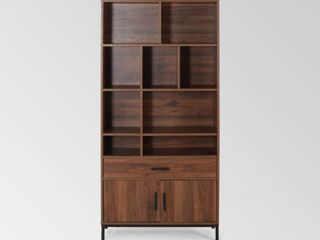 Gallatin Contemporary Faux Wood Cube Unit Bookcase by Christopher Knight Home  Retail 229 99