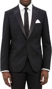 Black  42l   36 Waist  Men s Black Wool 2 button Tuxedo  Retail 199 49
