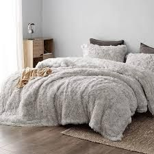 Socially Distant   Coma Inducer Oversized Comforter   Cloud Gray  Retail 179 99