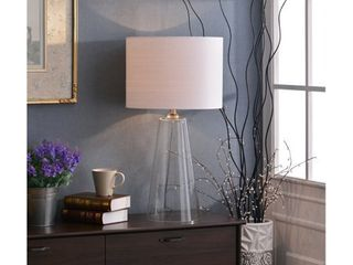 Clear Glass  Chamberlain 29 inch Table lamp  Retail 147 21