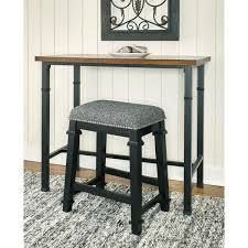 Counter Height   23 28 in    Single   Multi  Mayfair Black and White Tweed Backless Counter Stool
