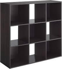 Whitmor 6422 8859 ESP 9 Cube Organizer   Espresso  Retail 78 48
