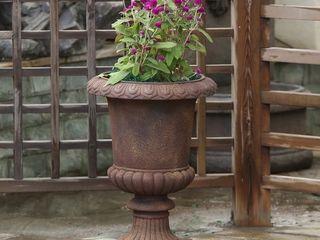 Classic Bronze Urn Planter  Retail 93 99