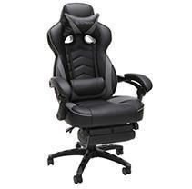 Grey  Respawn 110 Racing Style Reclining Gaming Chair with Footrest  Retail 200 28