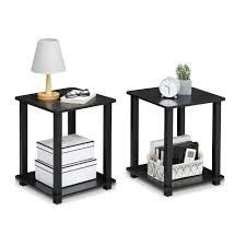 Porch   Den Rutherford Simplistic End Table  Set of 2