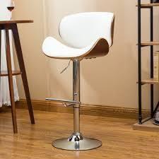 Strick   Bolton lega Modern Adjustable Swivel Barstool  Retail 98 99
