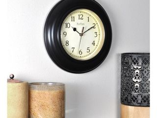 FirsTime Bronze Plastic Wall Clock