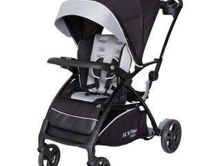 Baby Trend Sit n Stand 5 in 1 Shopper Stroller Moondust   Double Stroller Retail 167 99