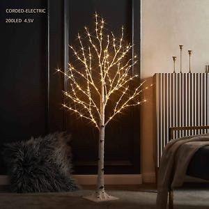 litbloom lighted birch twig tree  Untested