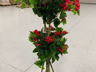 Nearly Natural 4  Double Bougainvillea Artificial Topiary Tree