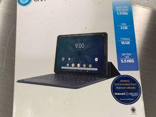 Onn 10 1  Andriod Tablet With Detachable Keyboard